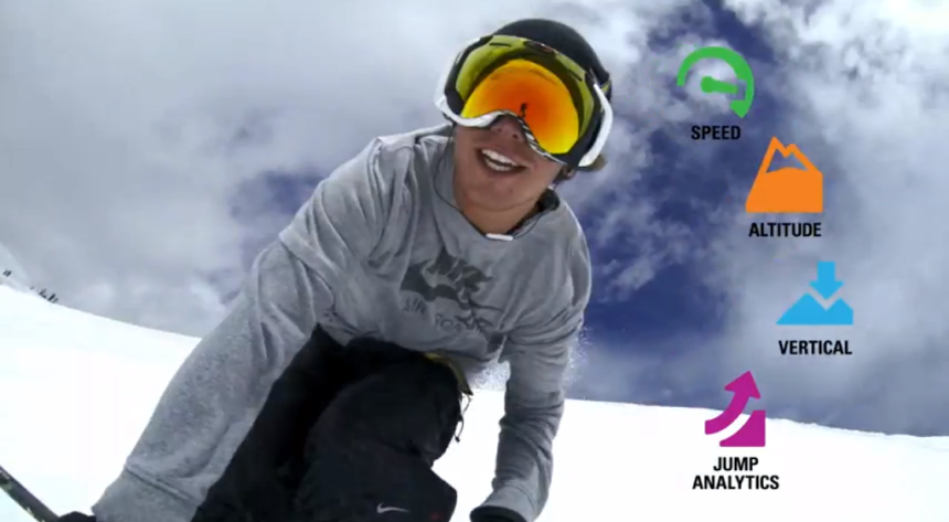 Oakley Airwave glass voor wintersporters