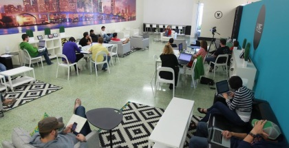 tech start-up scene in Miami