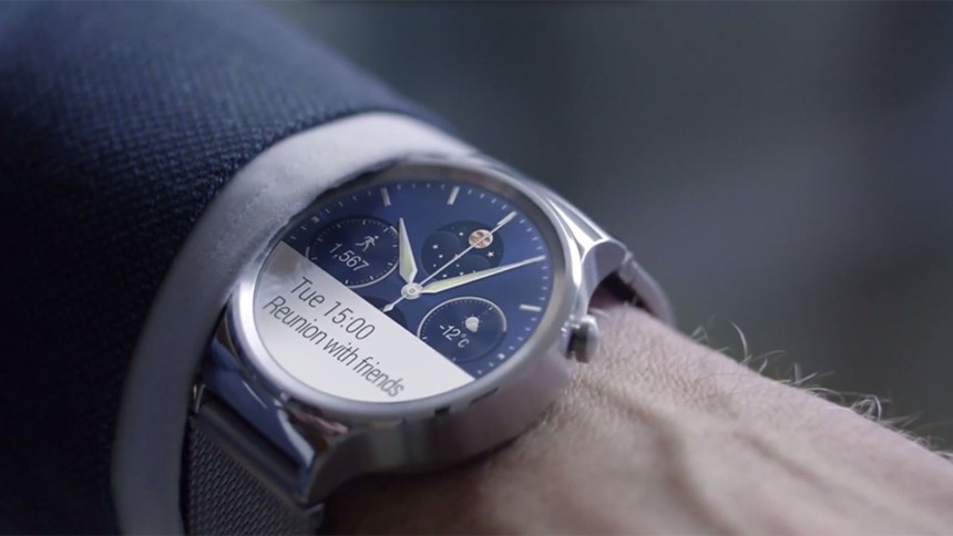 De killer Huawei Watch voor MWC15