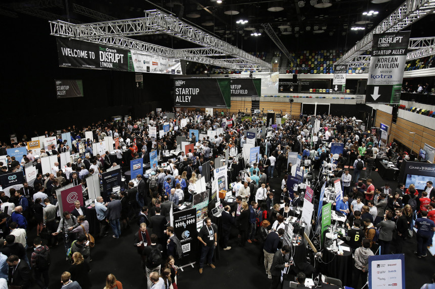 IoT op TechCrunch Disrupt in Londen (1)
