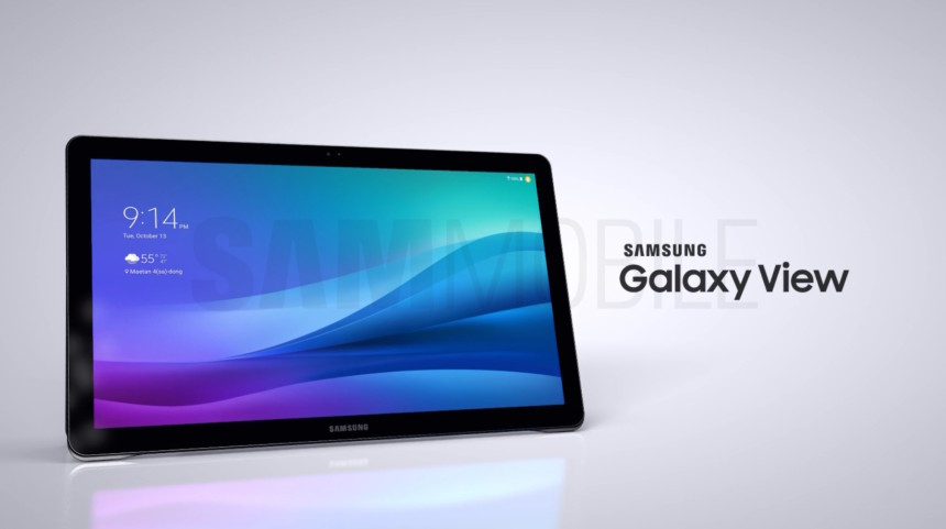 Galaxy view: computer, tablet of TV?