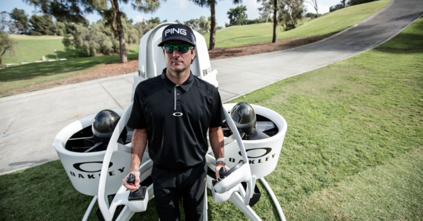 Hightech in de golfsport; van jetpacks tot surfboards